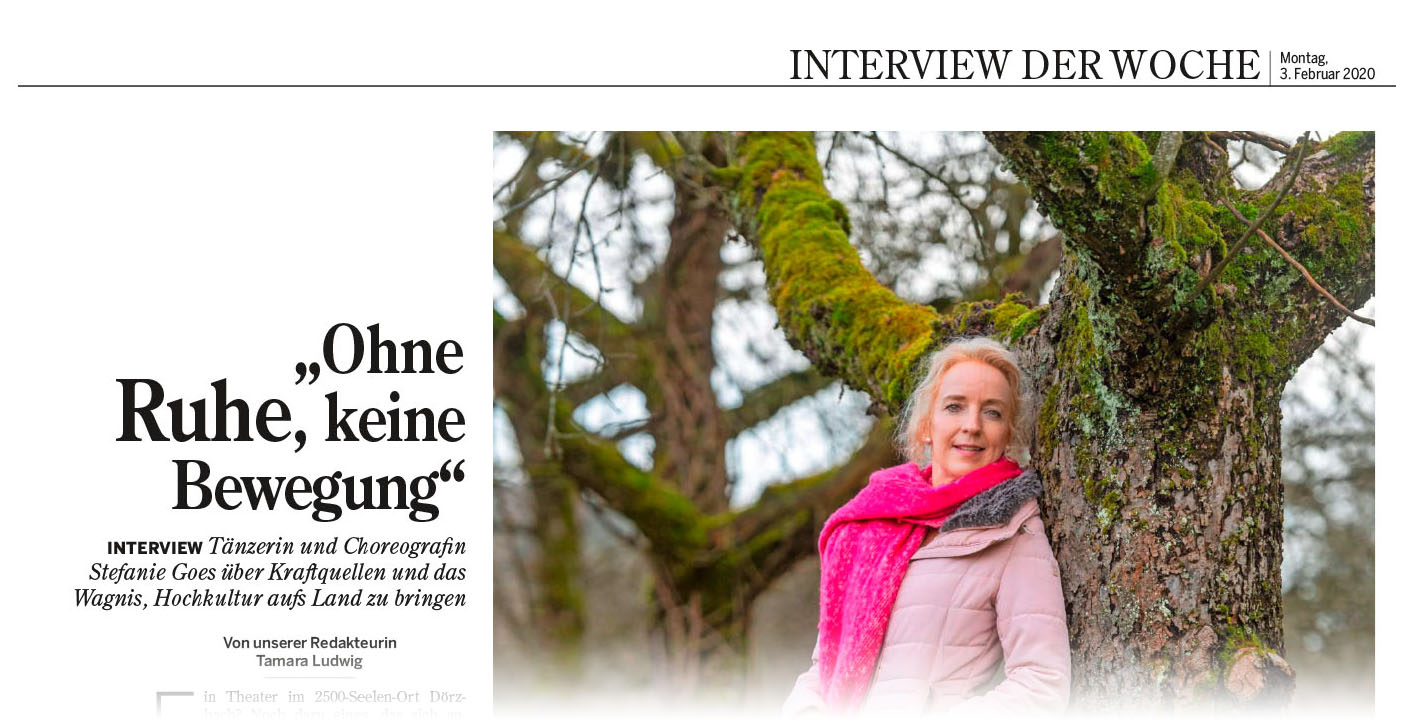 Stefanie Goes Interview Heilbronner Stimme .... Weiterlesen